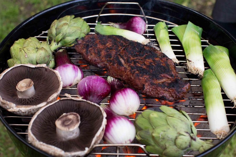 Summer Grilling, Sun Basket Style