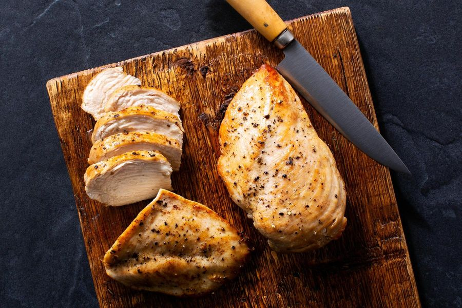 Organic Skinless Chicken Breasts 6 Oz Serving Sun Basket