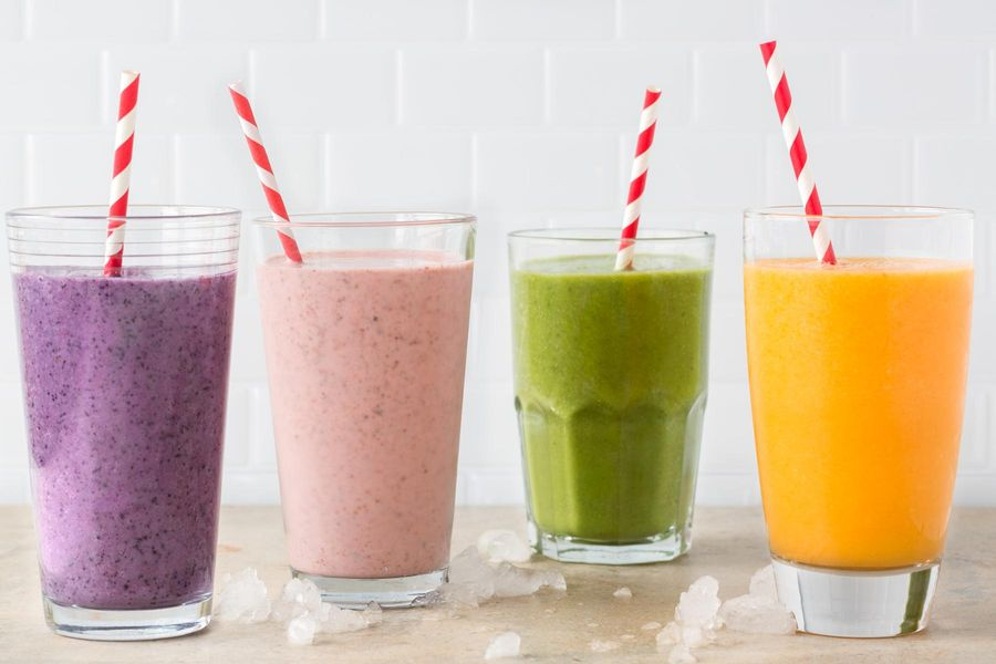Four Smoothies to Start Your Day Right