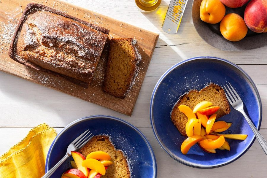 This Gluten-Free Olive Oil Cake is a Canvas for the Best End-of-Summer Fruit