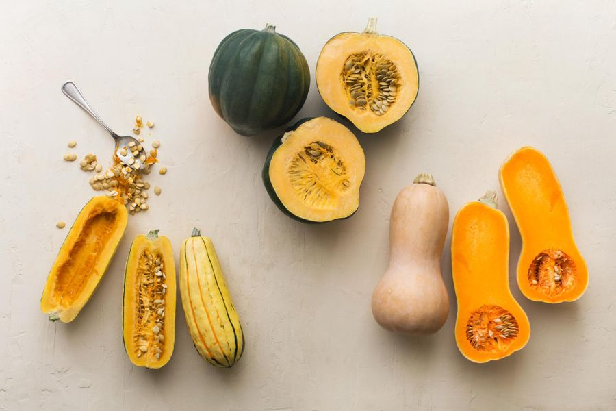 We are so into winter squash right now
