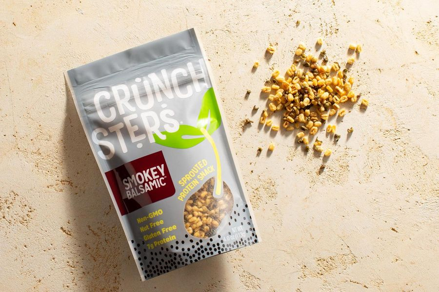 Smokey balsamic sprouted protein snack