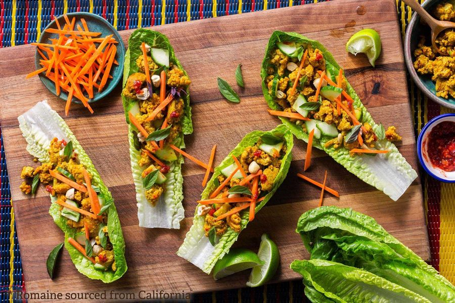 Superfast Thai turkey lettuce cups