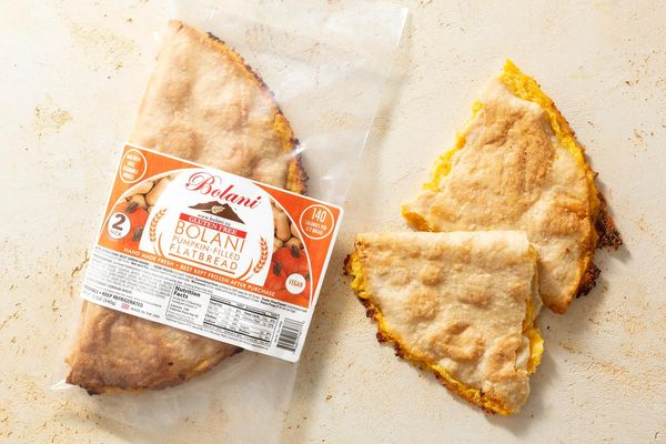 Gluten-Free Pumpkin-Filled Flatbread