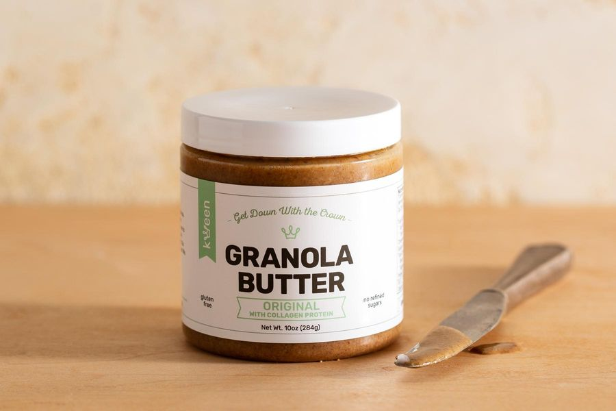 Granola butter, with collagen protein