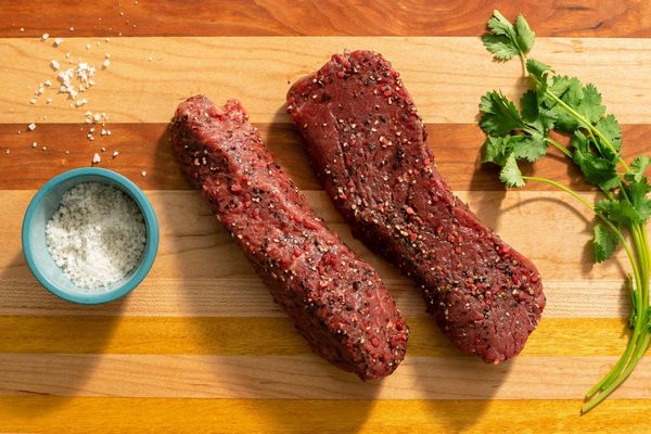 Garlic-marinated top sirloin cap steaks (2 count)