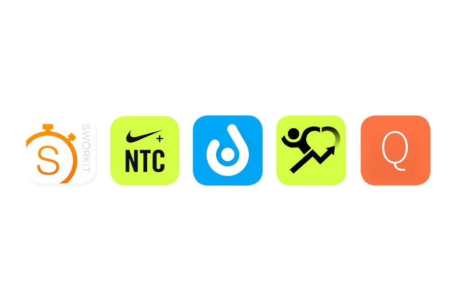 Our Five Favorite Fitness Apps