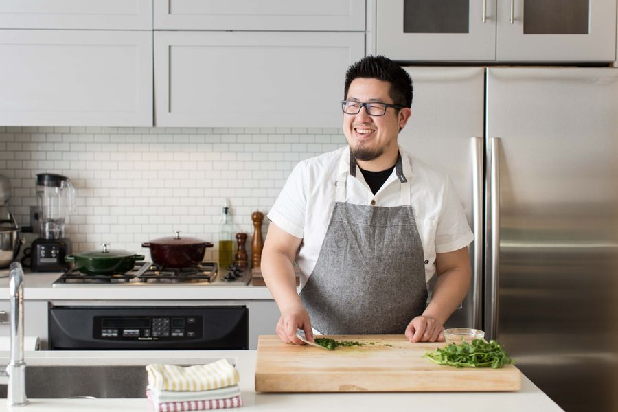For Sun Basket's Executive R&D chef, Alan Li, a Clean Kitchen is as Essential as a Sharp Knife