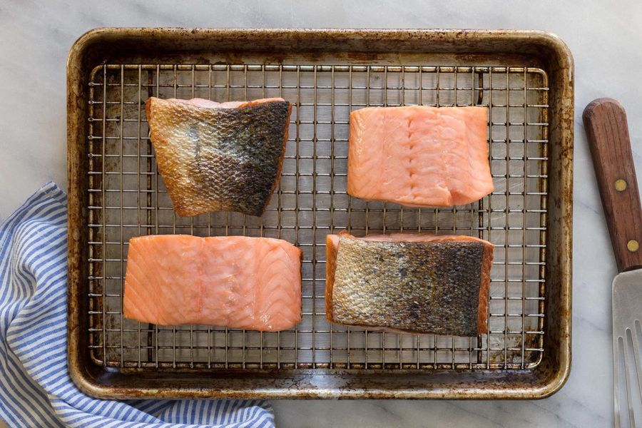 Salmon Skin Makes You Smarter, Stronger, and Better Looking. Did We Mention That it Tastes Like Bacon?