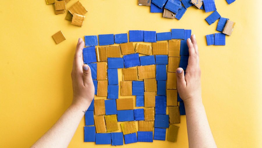 Cardboard Tile Puzzles