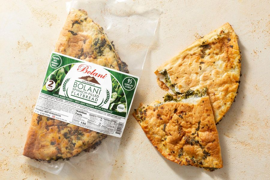 Spinach-Filled Flatbread
