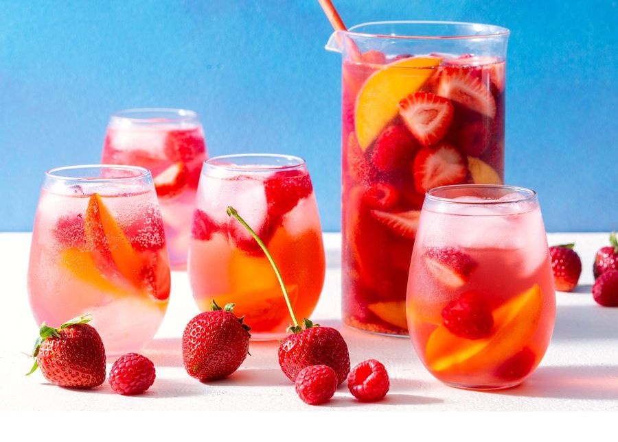It's Not Really Summer Until You Make Rosé Sangria