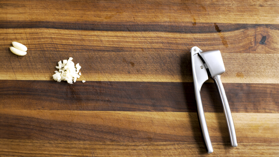How to Prep Garlic: A Masher Class