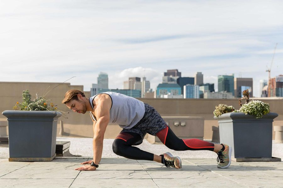 Work Every Major Muscle Group with Mountain Climbers