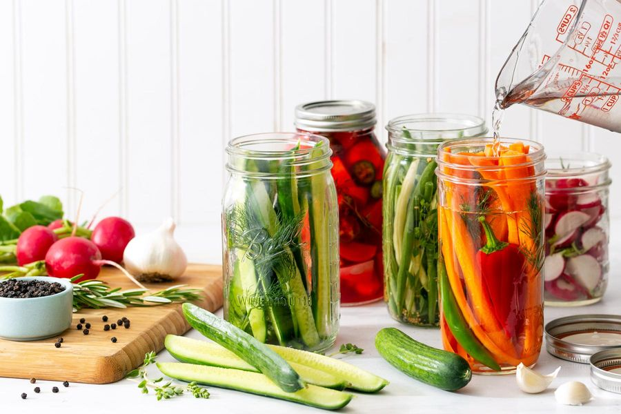 Hassle-Free Refrigerator Pickles
