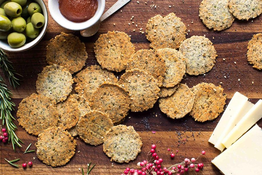 Gluten-Free Seed Crackers Recipe