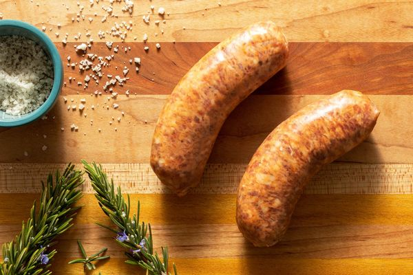 Organic fresh mild Italian pork sausages  (2 count)