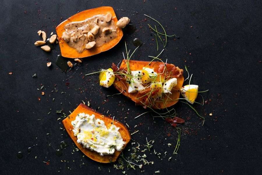 Sweet Potato Tartines Recipe