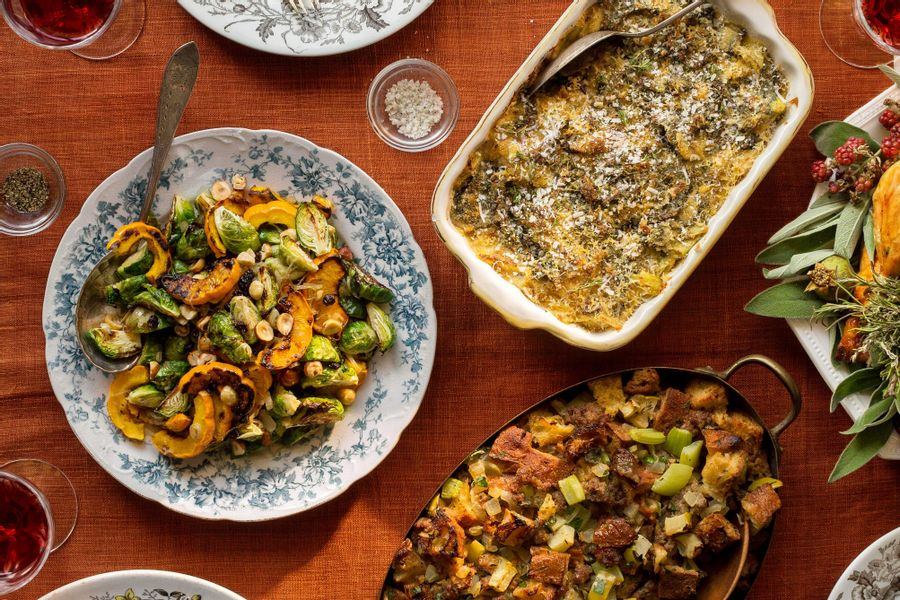 Order Sun Basket's ready-to-cook Thanksgiving side dishes today