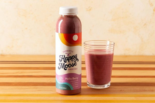 Hella Berry Probiotic Smoothie