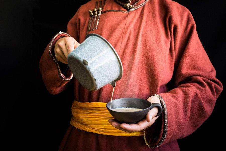 Mongolian roasted garlic paste