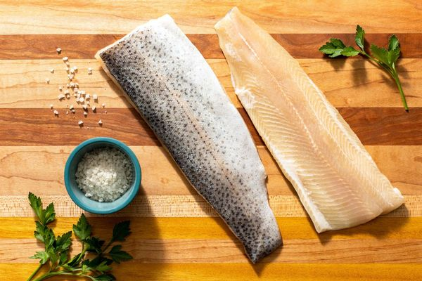 Wild Skin-on Rainbow Trout Fillets (2-count)