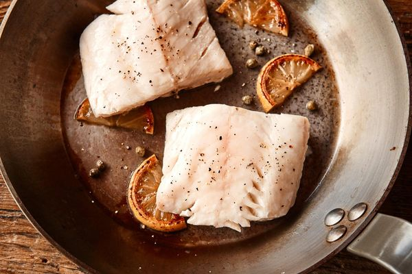 Wild cod fillets (2 count)