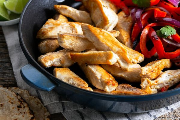 Boneless skinless chicken breast strips