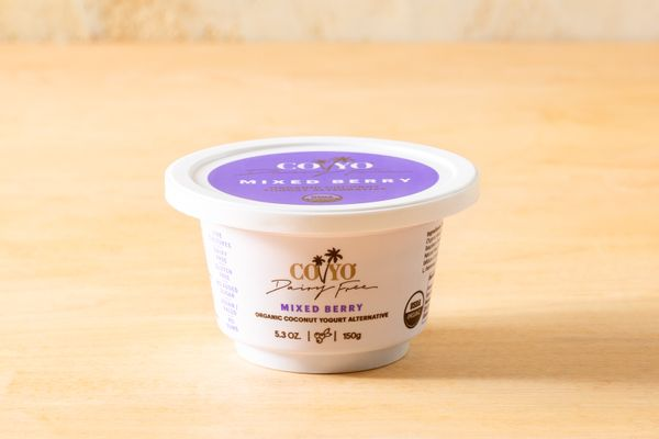 Organic mixed berry coconut yogurt