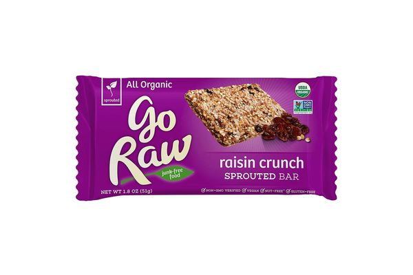 Raisin crunch sprouted bar