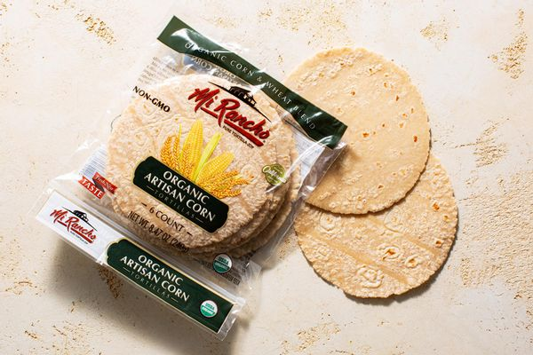 Organic artisan corn and wheat tortillas