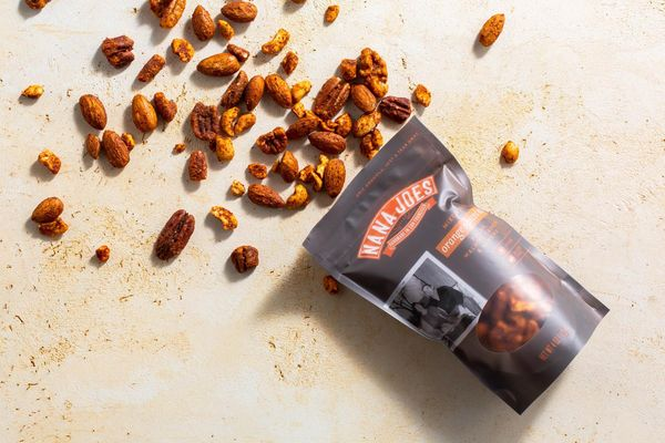 Orange spiced nuts