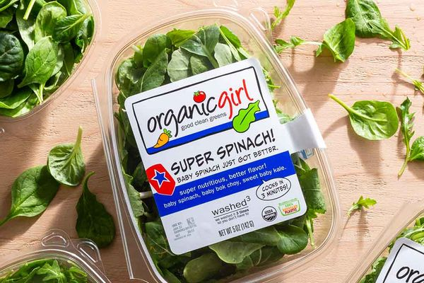Organic Super Spinach!