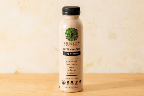 Organic Prebiotic Protein Drink, Super Chai Fuel