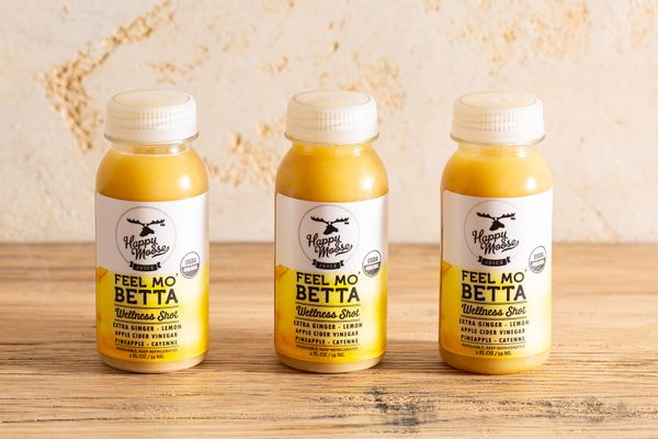 Organic Feel Mo' Betta ginger juice shots